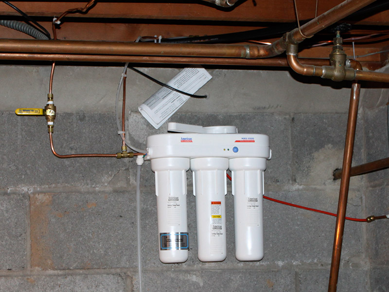 basement waterproofing water treatment gas piping sewer